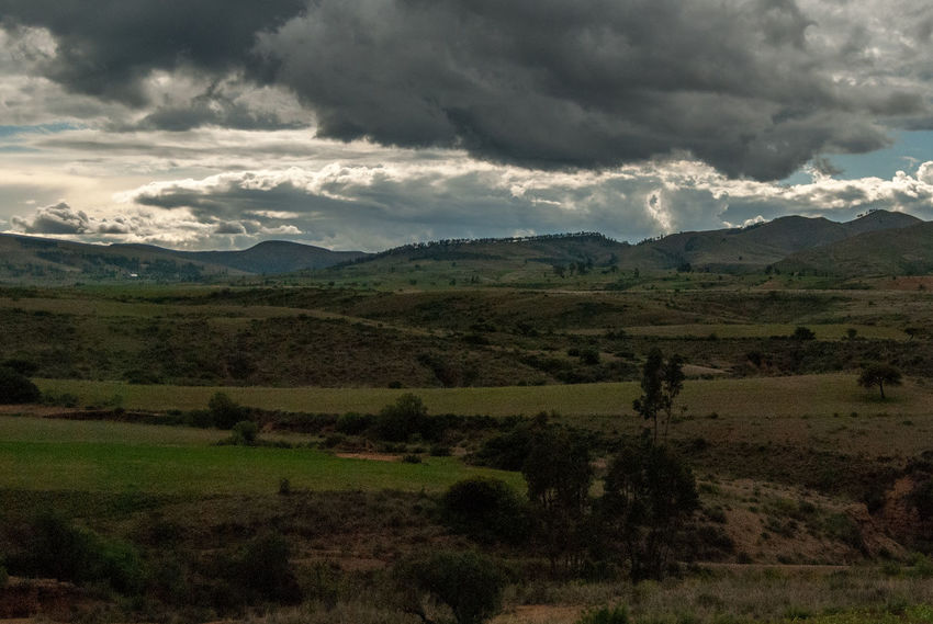 Bolivian Landscape Bolivia Beauty In Nature Cloud - Sky Day Field Grass Landscape Mountain Nature No People Outdoors Scenics Sky Torotoro Tranquility