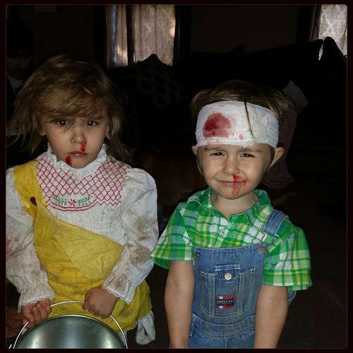 Jack And Jill Halloween Costume Kidsdosomecrazythingsandthenwhentheygrowupyouhaveembrassingstorystotellaboutthem