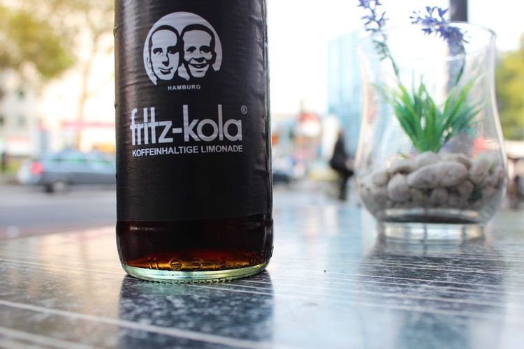 Fritz Kola Alcohol Bottle Close-up Day Drink Focus On Foreground Freshness Indoors  No People Table Text