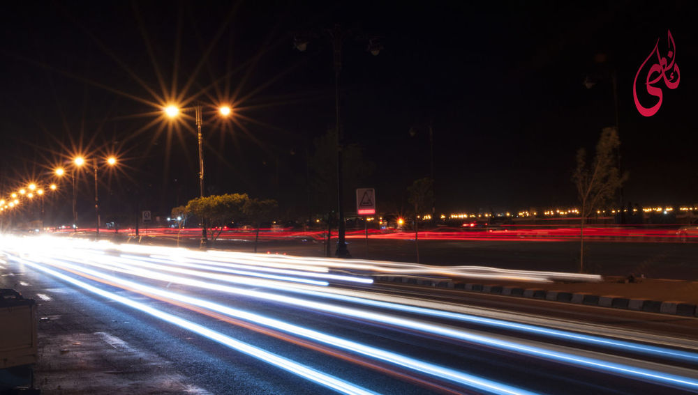 First Eyeem Photo Longexposurephotography Cars Car Trails Street Photography Streets Cities At Night City Red Blue The City Light The City Light