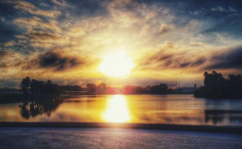 my little slice of heaven Mornings Sunrise Naturesbeauty Landscape Reflection Morningviews Blessed  AnotherDay Anotherdayinparadise