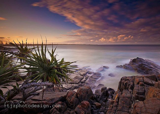 Cabarita Headland, NSW 2488. Landscape Landscape_Collection Long Exposure Lee Filters Taking Photos Check This Out Hello World Cabarita Beach Caba Cabarita Sunset Sunset_collection Water Ocean Ocean View Photography Photooftheday