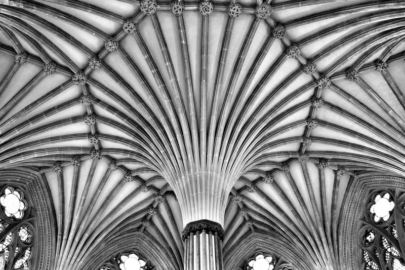 Cathedral Geometry Shapes Blackandwhite Somerset England Showcase March Easter Ready The Architect - 2016 EyeEm Awards