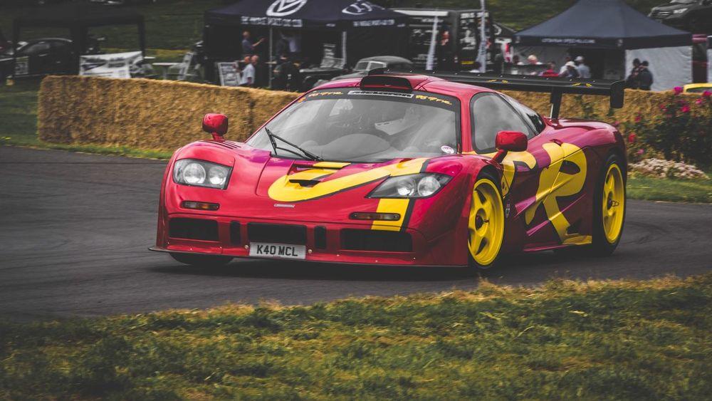 On the limit... McLaren Mclaren F1 Gtr Mclarenf1 Mclaren P1 Mclaren 650S Cars Racecar Car Outdoors Dambarnettmedia Automotive Photography Petrolicious Hillclimb Classic Car Classiccar Classic Automotive Red Vibrant Color On The Limit