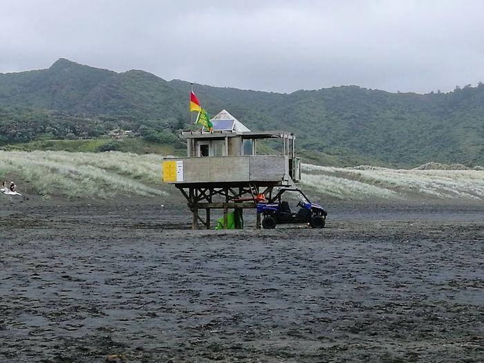 Flag Landscape Outdoors Cloud - Sky No People Beach Bethell's Beach Auckland New Zealand Natural Surf Life Saving