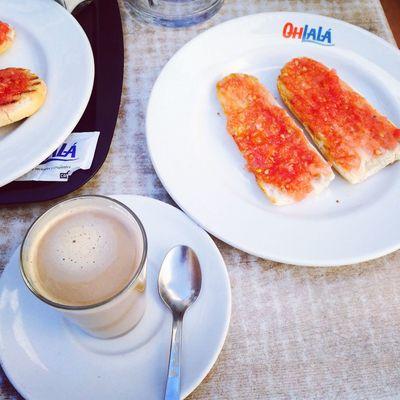 Good Morning Hello World Breakfast Tostada Food buenos días!!!😘😘