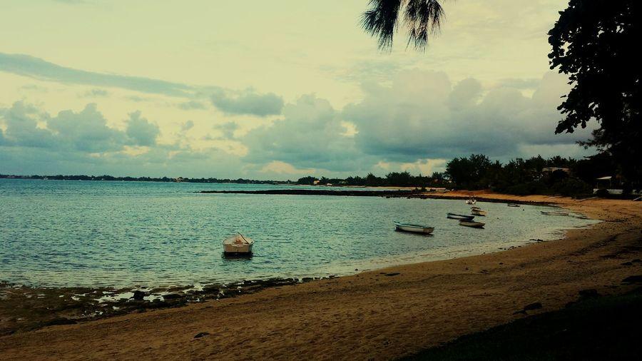 Mauritius, Beach Hello World Traveling