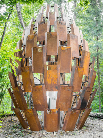 Gawlet Tourist Art Art Object Art Park Nikola Lenivest Arts Culture And Entertainment Close-up Day Forest Growth Nature Nikola Lenivets No People Outdoors Tree