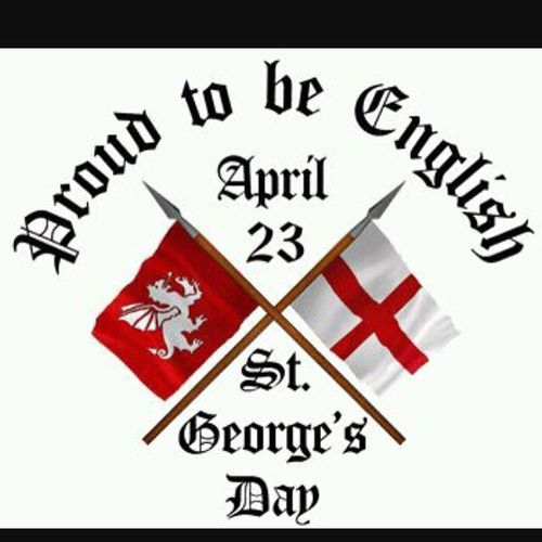 Happy St George's day. Happy Stgeorges Day Fun Weekend World England