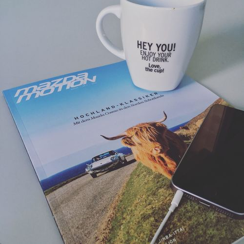 Text Western Script Communication Food And Drink Message Mazda Magazine