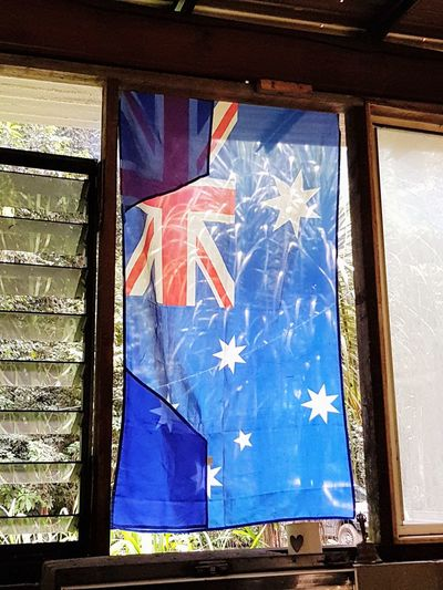 aussie flag Day