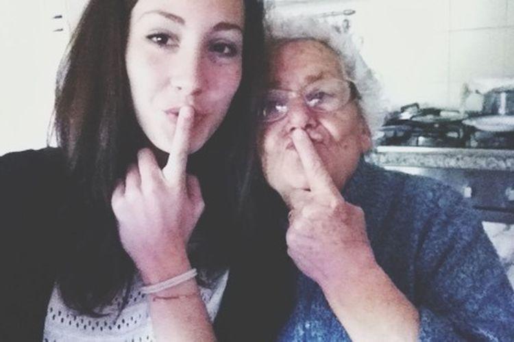 La nonna piu bella cel ho iooooo!