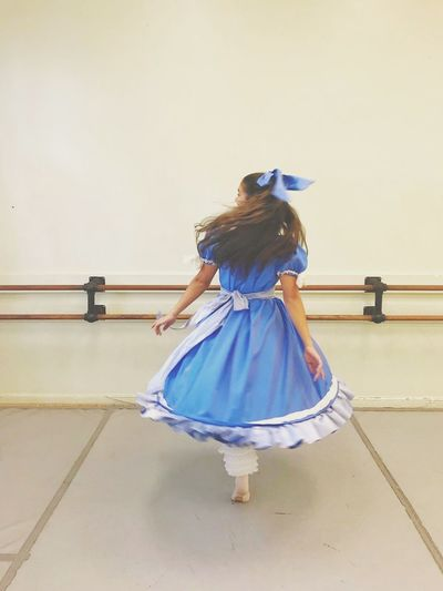 """Clara"" spins - Only Women Full Length Dancing Adult Adults Only People Young Women Young Adult Rear View Blue Women Dancer Arts Culture And Entertainment Lifestyles City Real People Day Ballet Ballerina Dancing TheNutcracker2017 My Daughter"