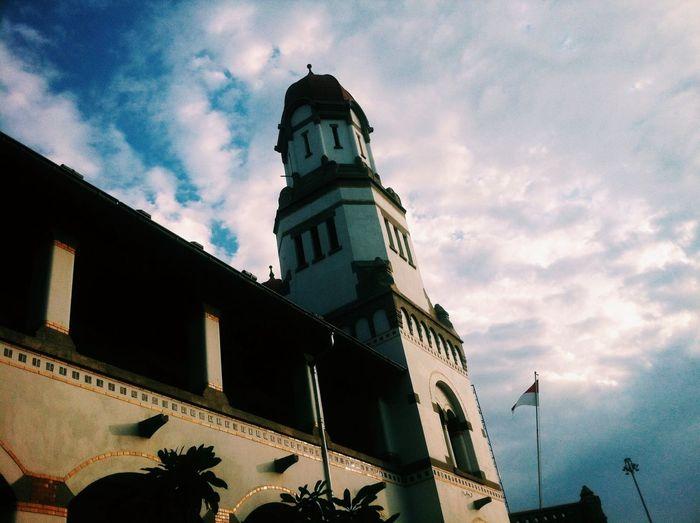 Clouds And Sky Lawangsewu Semarang INDONESIA