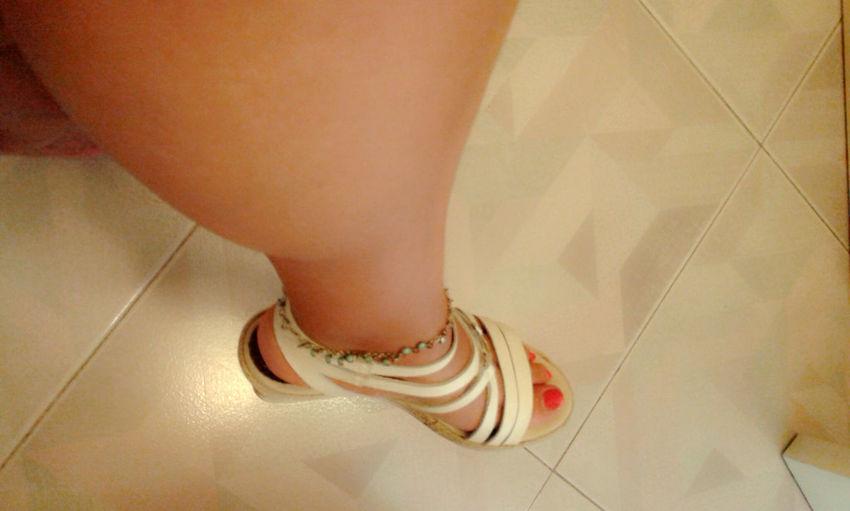 Cavigliera Sandals Caviglia Gambe Piedi