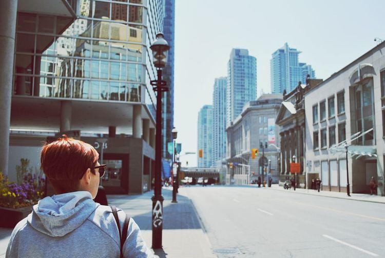 Enjoying Life Walking Around The City  Weekend Canada Toronto Skyline Toronto Family House Life Live Authentic
