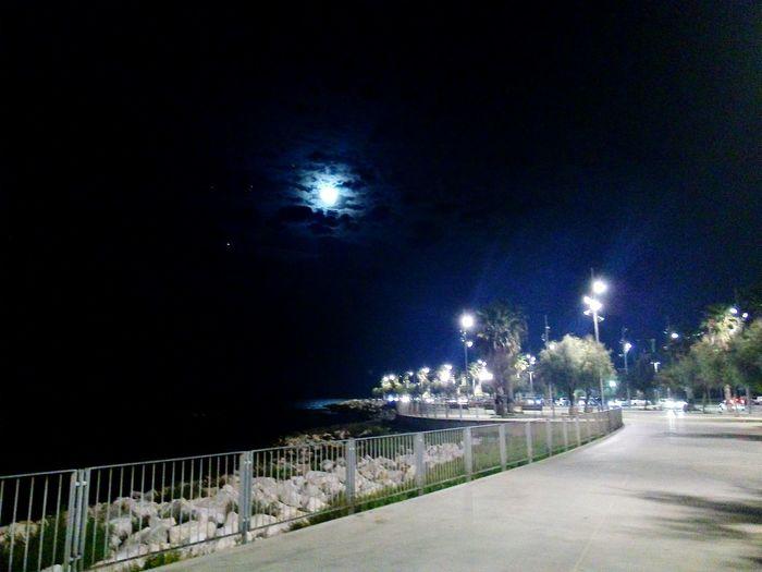 Night Nightphotography Sky Moon Dark Cityscape Lights