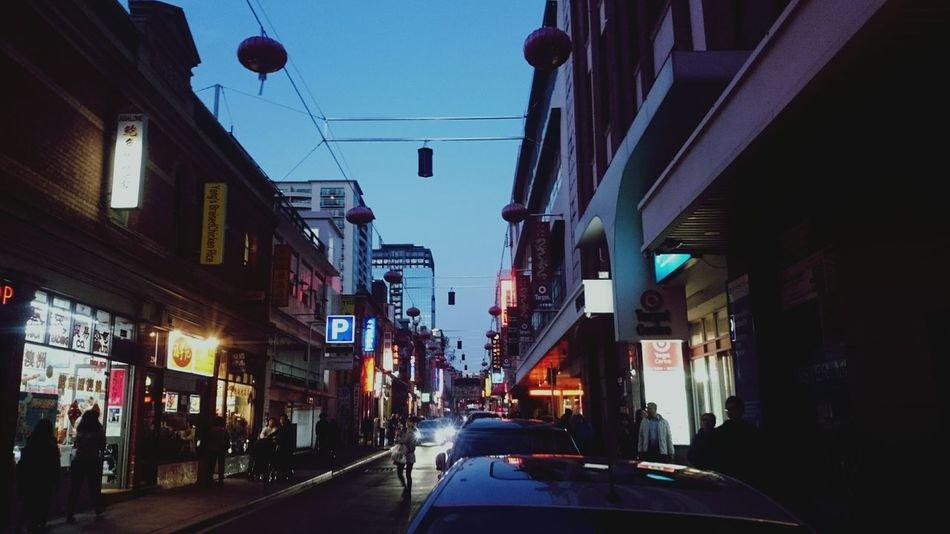 China town in Melbourne Chinatown Street Photography Street Neon Neon Lights Cold Winter ❄⛄ Cold Strolling Melbourne