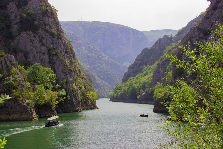 Matka Canyon, Macedonia Nature On Your Doorstep Nature Photography Adventure Beauty In Nature Boats Canyon Day Lake Mountain Nature Nature_collection Nautical Vessel One Person Outdoors People Real People River Scenics Sky Tranquil Scene Tranquility Transportation Travel Destinations Tree Water