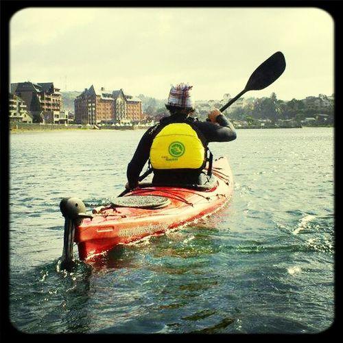kayak Enjoying Life Taking PhotosHello World Hi!
