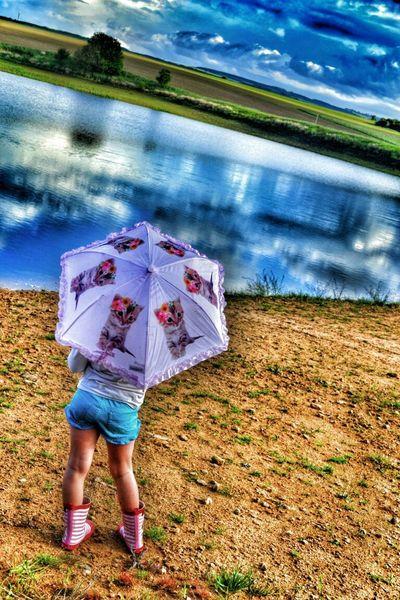 Umbrella Girl Taksforlikes Fotography Child Water MyGIRL Taksforlike Rain