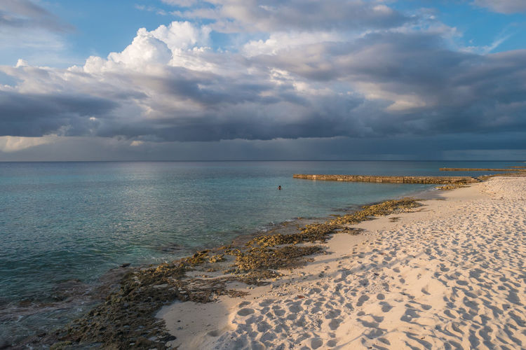 Cuba Beach Beauty In Nature Cloud - Sky Day Horizon Over Water Maria La Gorda Nature No People Outdoors Sand Scenics Sea Shore Sky Tranquil Scene Tranquility Water