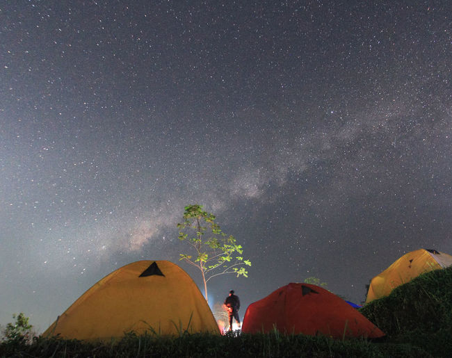 milkyway Night Star - Space Astronomy Tent Camping People Adults Only Adult Milky Way Outdoors Science Sky Galaxy Low Angle View Constellation Beauty In Nature Nature Space Illuminated Purwokerto Indonesia_photography Star Trail Landscapeindonesia