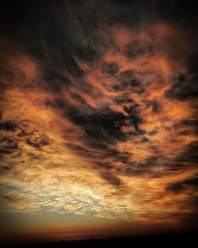 Sunset Backgrounds Awe Dramatic Sky Sky Only Multi Colored Majestic Orange Color Storm Cloud Sky Romantic Sky Lightning Power In Nature