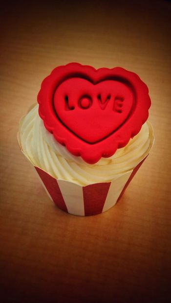 Love Cupcake Food Valentine's Day