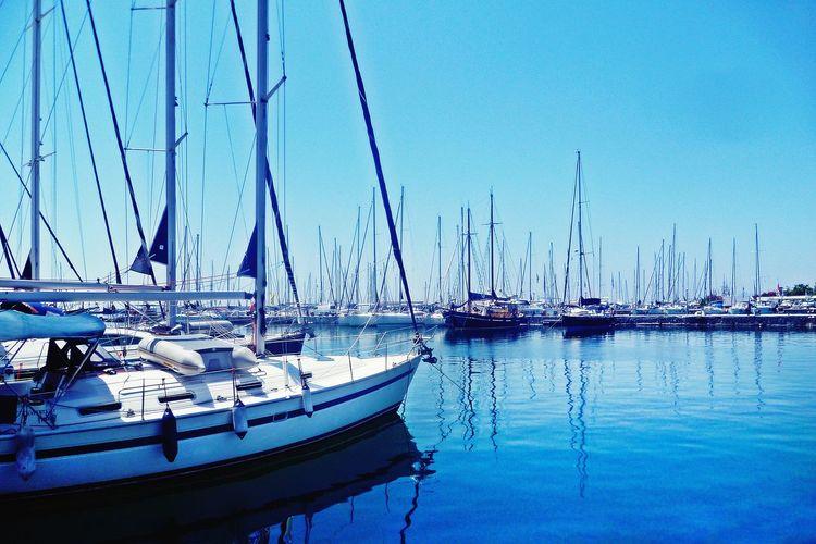 Yachts at the