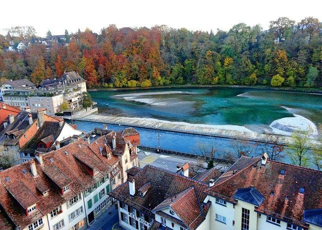 Swiss Autumn🍁🍁🍁 Riverside City Houses Sony