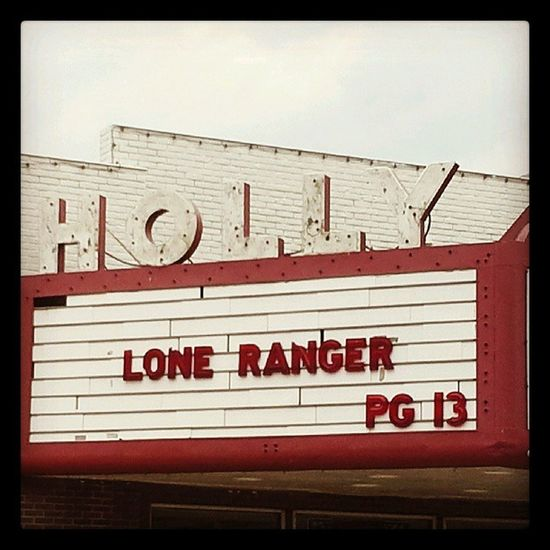 Holly Movies Theater Cinema Signage Neon Show Loneranger Marquee Movietheater Courtstreet Cinematreasures Signfixation Savethesigns Beatricenebraska