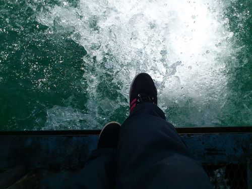 Be. Ready. Vacations Human Leg Motion Nature Outdoors Sea Travel Destinations Water Xperia Ray
