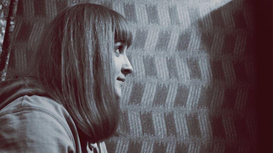 Blackandwhite Portrait Girl