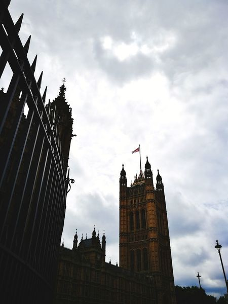 Architecture Cloud - Sky Travel Destinations History Clock Tower Building Exterior Politics And Government Politics Cityscape No People Built Structure Outdoors Palace Of Westminster London
