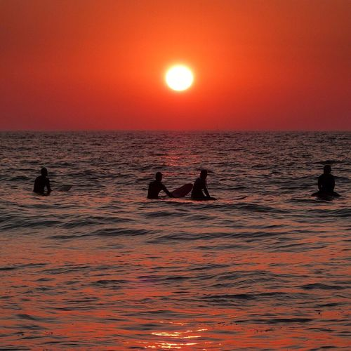 Sunset Sea Sea And Sky Sun Sunshine Sunset Silhouettes Sunset_collection Ericeira