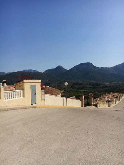 Mountain Built Structure Architecture Mountain Range Clear Sky Nature View Way Street SPAIN Hills