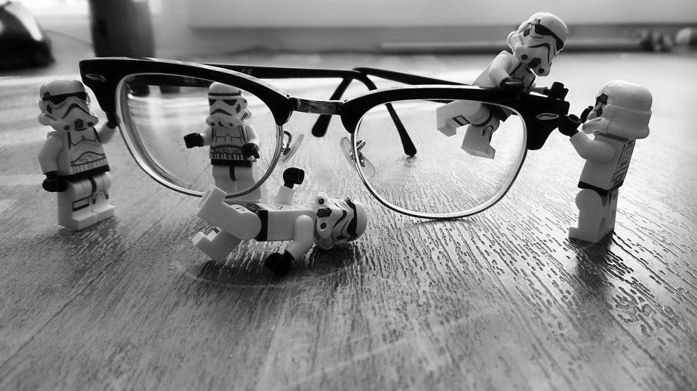 Black & White Star Wars Clubmaster LEGO