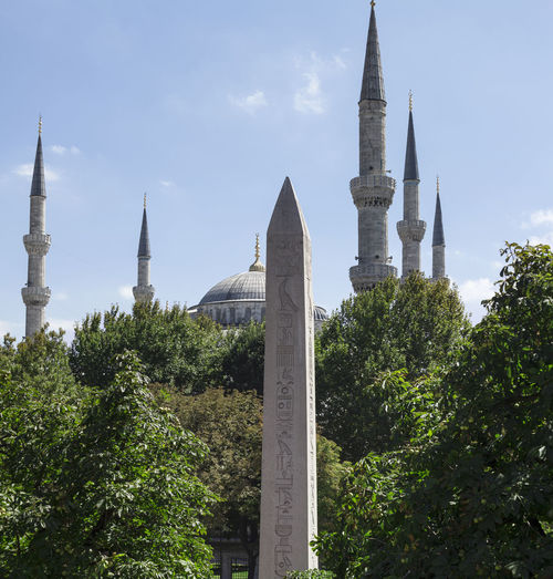 Blue Mosque in Istanbul, Turkey Architecture Art Beautiful Blue Mosque Builiding City Day Design, Beauty And Strenght All Rolled Up Istanbul Landscape Old Outdoors Religion Sky Stone Tourism Turkey