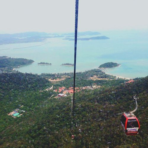 """No one is afraid of heights, they are afraid to fall. Get up and conquer your fears."" Adventure Is Out There Adventure Travel Travelphotography Topview Cable Car Skycab Langkawi Malaysia Tourist Traveling Check This Out Summer2016 Wanderlust Explorer"