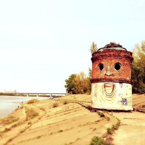 водокачка в нижнем Street Art Nizhniy Novgorod Russia Art