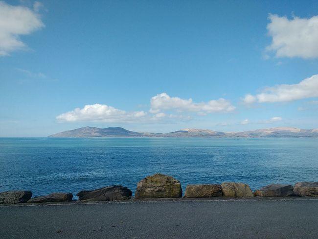 Ballinskelligs Bay Kerry Waterville Ireland Ocean View Blue