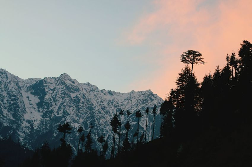 Lights At Dusk Dusk Sky Himalayas Incredible India Peace And Quiet