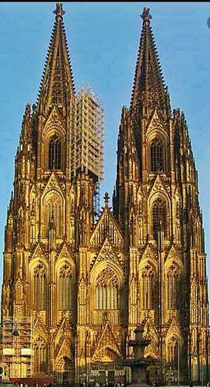 Gothic Cathedral Colognecathedral Germany Taking Photos No Location Needed EyeEm Best Shots My Smartphone Life Traveling