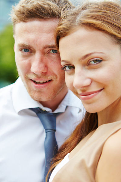 portrait of a smiling young couple Adult Bonding Business Businessman Businesswoman Career Content Couple Couple - Relationship Emotion Face Get Married Happiness Happy HEAD Headshot Joyful Looking At Camera Love Man Men Merchant Outdoors Outside Partnership People Portrait Positive Emotion Real People Smile Smiling Student Students Together Togetherness Trainee Two People Wedding Woman Women Young Adult Young Men Young Women