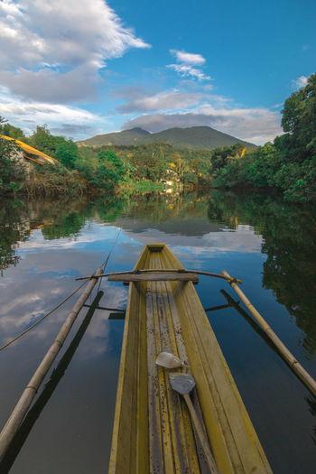 Boat Trip Cloud - Sky Tranquil Scene Water