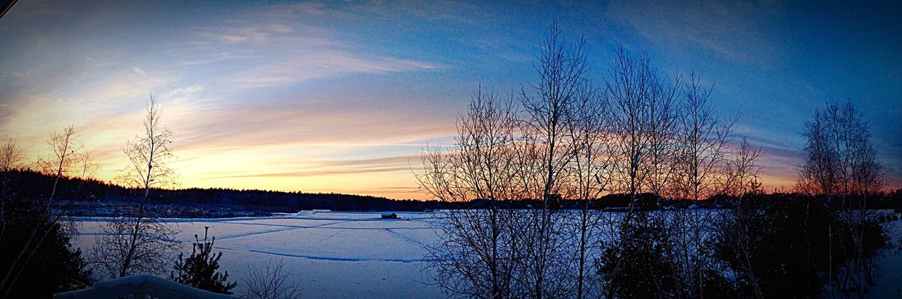 Snowstorm2016 Snowscape Snow❄⛄ Snowy Days... Winter Wonderland Winter Winter In New England Snow ❄ New England  Duxbury, Ma Snow Day Outdoors Massachusetts Sunset Landscape Tranquil Scene Cranberry Bog Panoramic Photography
