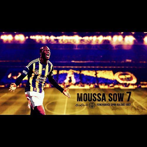 Moussa Sow... Her macta golü var Besiktas kalesine. Fenerbahce  Fenerbahce  1907 sarilacivert sarikanarya sowzamani