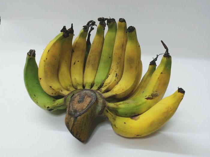 กล้วยเล็บมือนาง Fruit Banana Healthy Eating Food And Drink Tropical Fruit Food Yellow Freshness No People Indoors  Multi Colored Close-up Day
