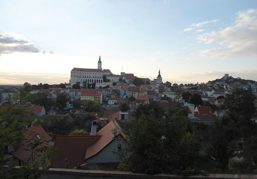 Czech Republic Mikulov Town Castle Travel Photography Traveling
